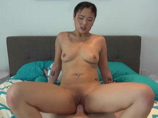 Amazing asian super-bitch