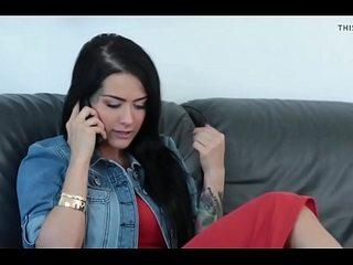[HD] Hot Katrina Jade gets Ravaged by Big black cock