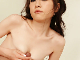 Ryo Kaede plays with her studs puffies making him prepped to penetrate